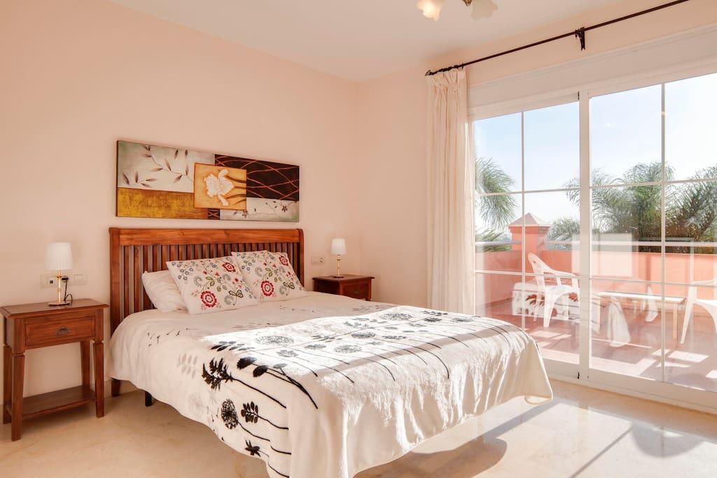 Villa Pilar Master bedroom