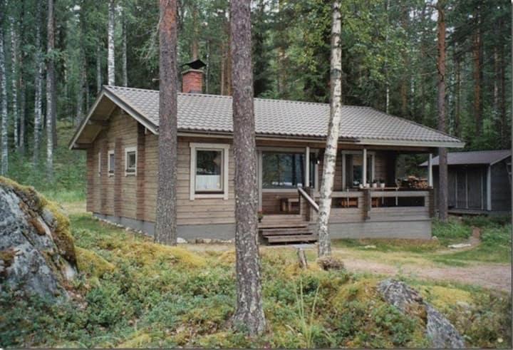 Lovely cottage in Saimaa Kolovesi