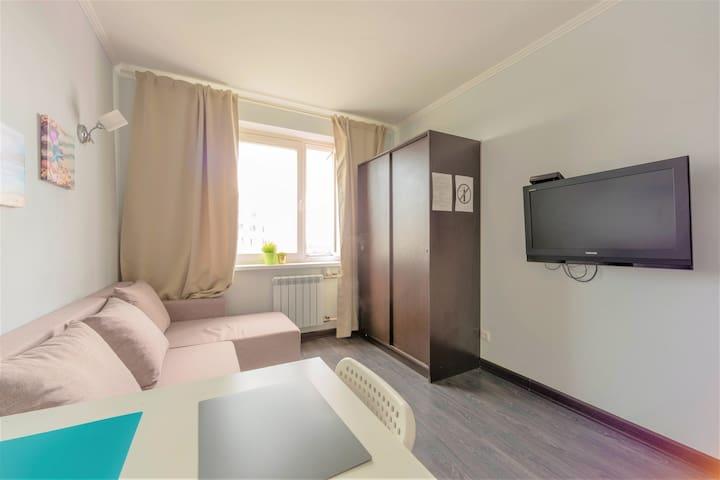 Чистая квартира в Бутово, Москва