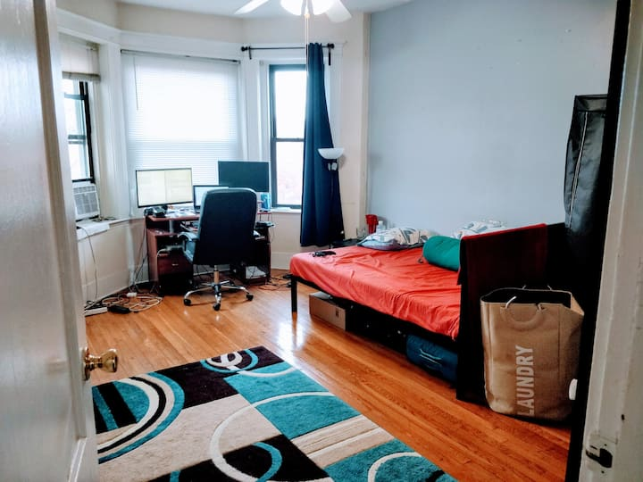 Large Private Bedroom in Allston