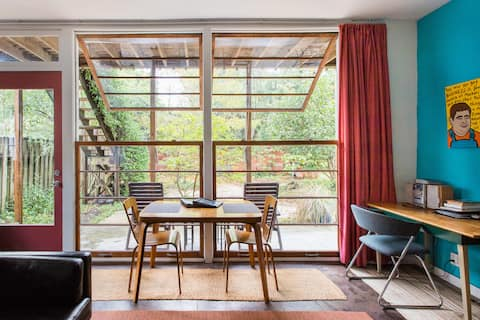 Cabin Apartment in 1914 Carriage House Revision