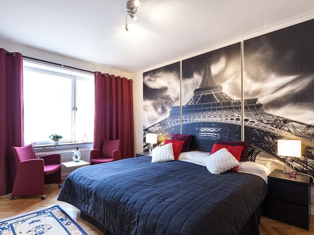 (M) Studio apartment downtown Stockholm