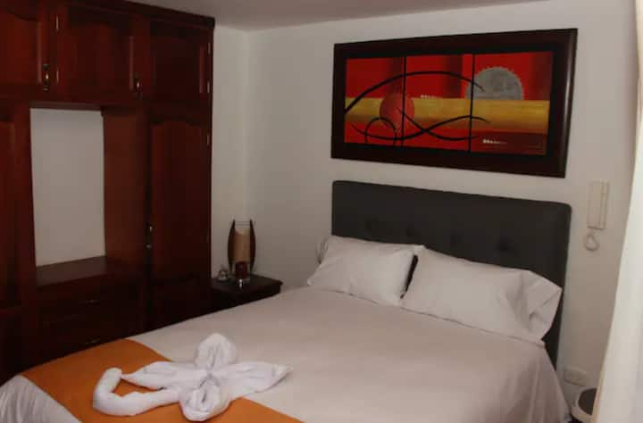"APARTAMENTO 201 ""A""  MODERNO CENTRAL Y CONFORTABLE"