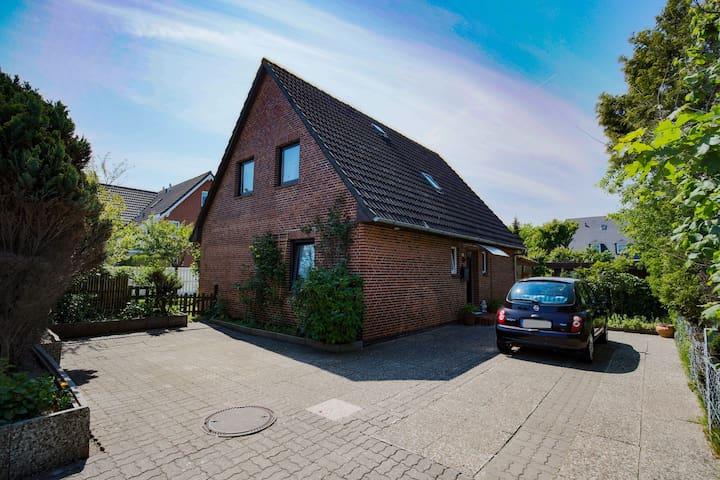 Zimmer mit Doppelbett in Westerland