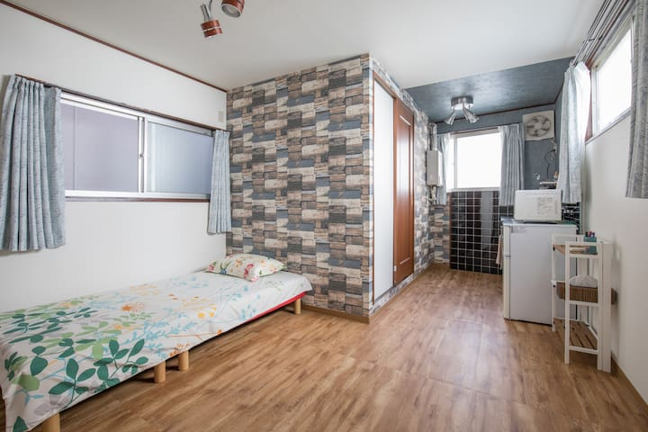 Bright Private Room 1 min from subway station