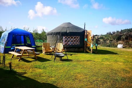 Fox Field Yurt, Beare's Den Campsite