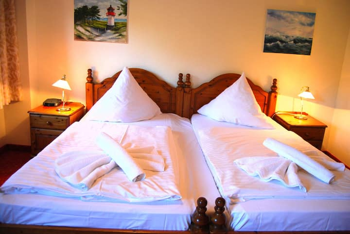 Hotel Heiderose auf Hiddensee, DZ 22 2