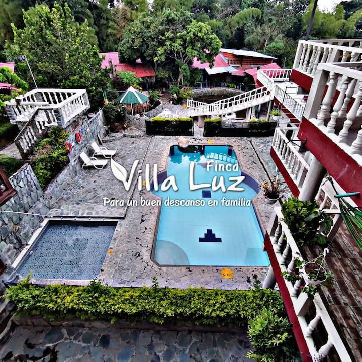 Finca Villa Luz.  Para un buen descanso en Familia