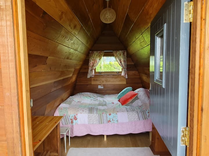 Lake View Pod at Glasson Glamping Farm