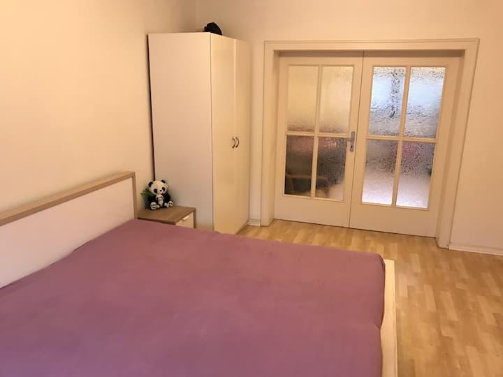 2 bedroom loft in charming living area near Rhine