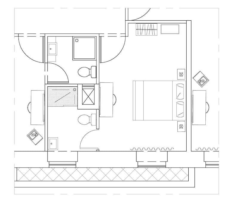 Typical Room layout plan