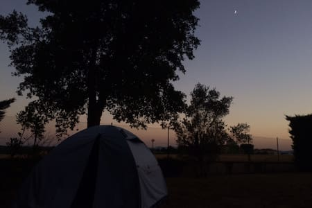 Private camping spot next to Girona - Riudellots de la Selva