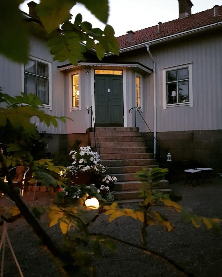 Charmigt boende i Lugn&Ro på Bohus-Malmön.