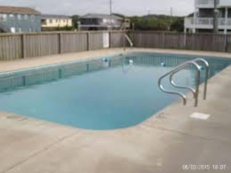 Pool is shared by the houses on just our block; please don't give out code to others!