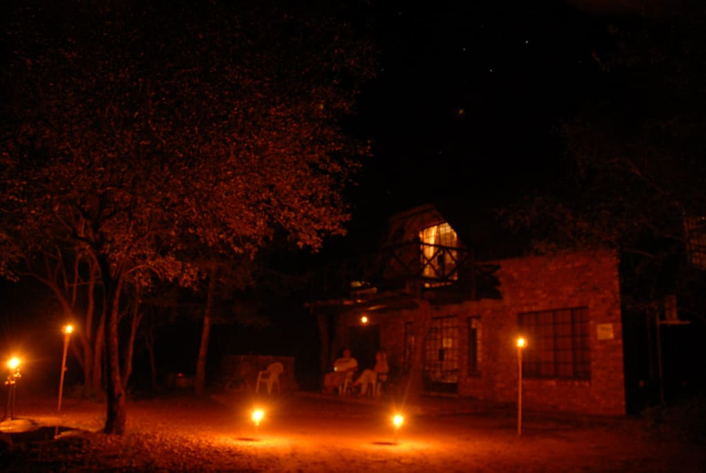 Evening entertainment is listening to the night sounds of the bush!