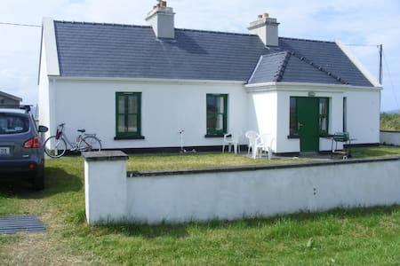 Cottage with sea views on Wild Atlantic Way