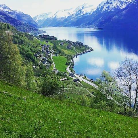 Leilighet ved sørfjorden  Hardanger - Børve - Apartment