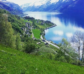 Nyoppusset leilighet ved sørfjorden  Hardanger