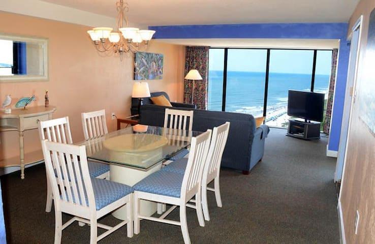 Ocean Front Penthouse Condominium