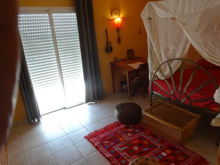 Chambre Marocaine - Maison contemporaine.