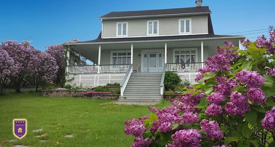 Maison des lilas - La Malbaie
