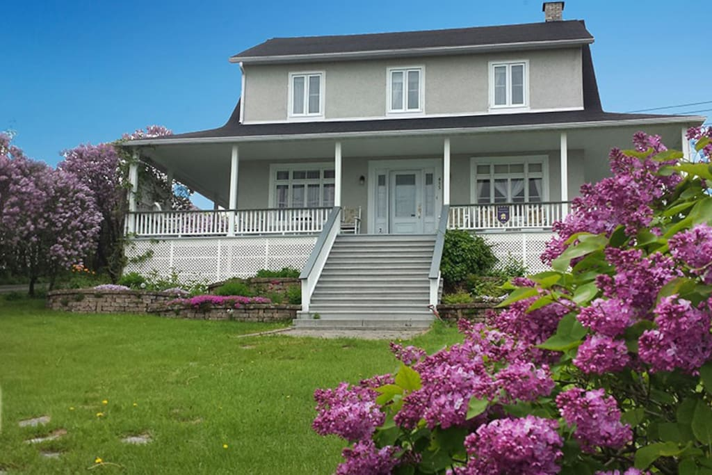 Maison des lilas bed breakfasts for rent in la malbaie qu bec canada - Canada maison close ...