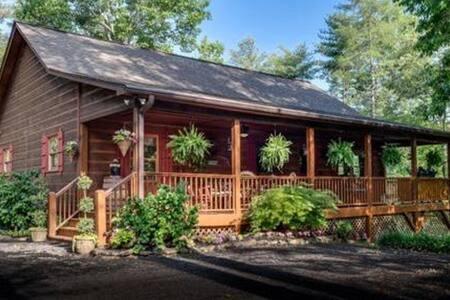 5 Bears Cabin -Rustic & Luxurious! - Murphy - Cabana
