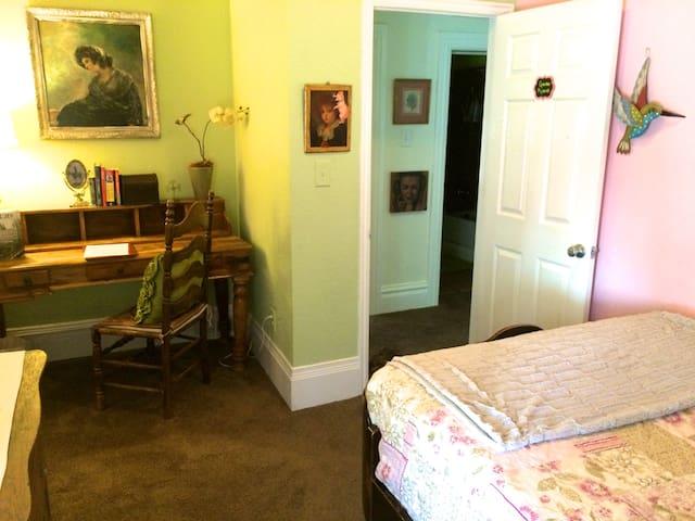 Private room w/ desk-work area