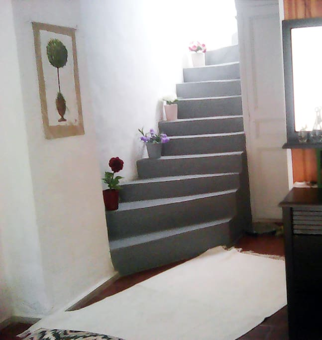 Main Bedroom stairs to rooftop terrace