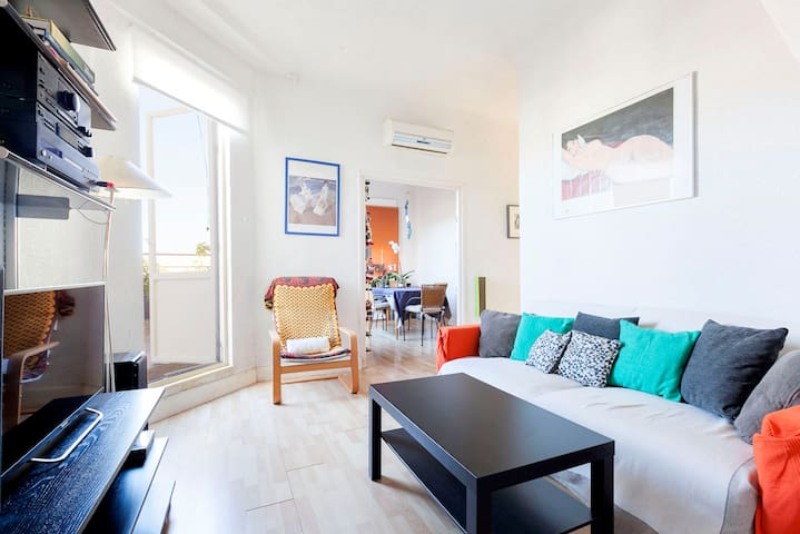 Madrid. Attic, 2 double rooms - Madrid - Other