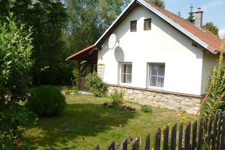 Vysočina, Country house/chalupahttps://www.airbnb. - Herálec - Rumah