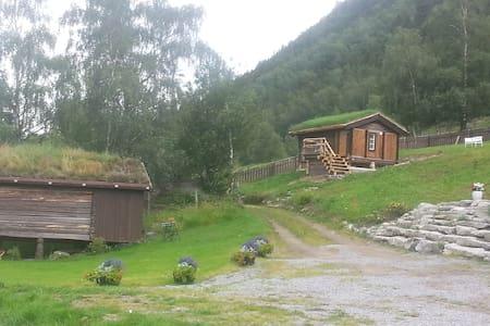 Stabburet - Lom - Blockhütte