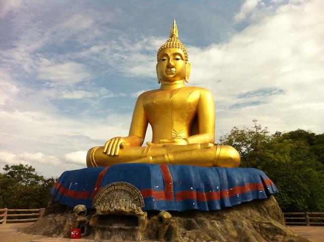 Big Buddha at Wat Thum.  Khoa Tao