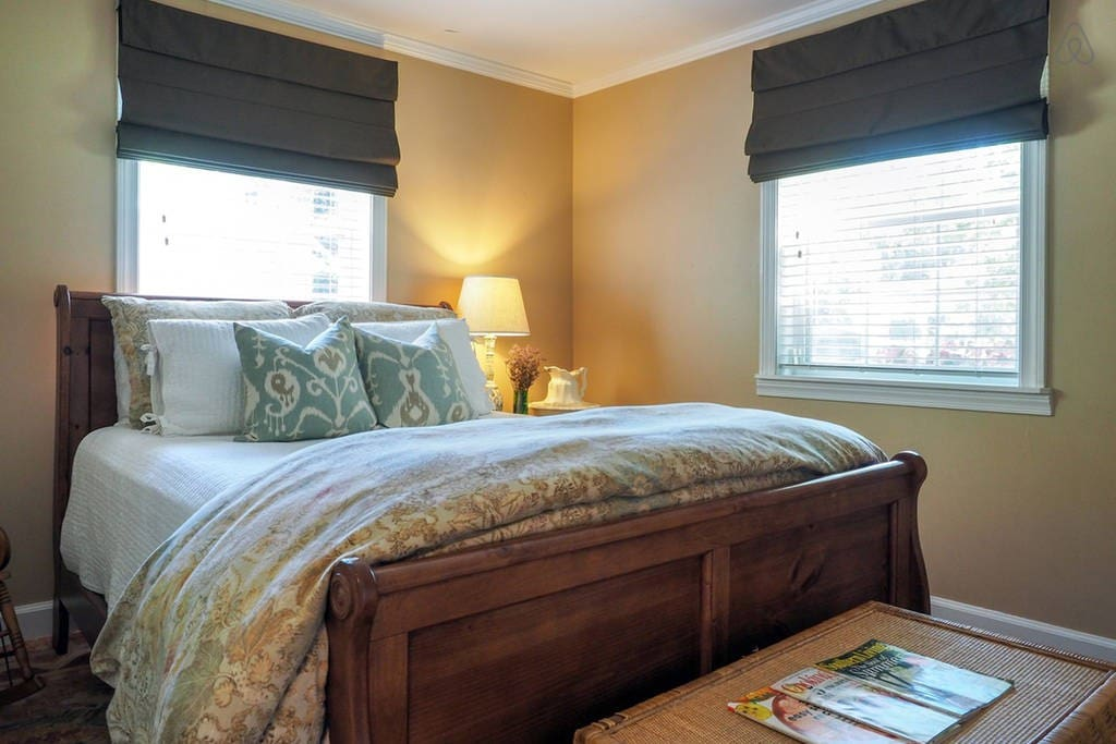 Bedroom 2 also with a cozy queen bed.