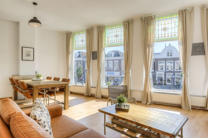 Great spacious apartment (110m²) - Sneek - Lägenhet
