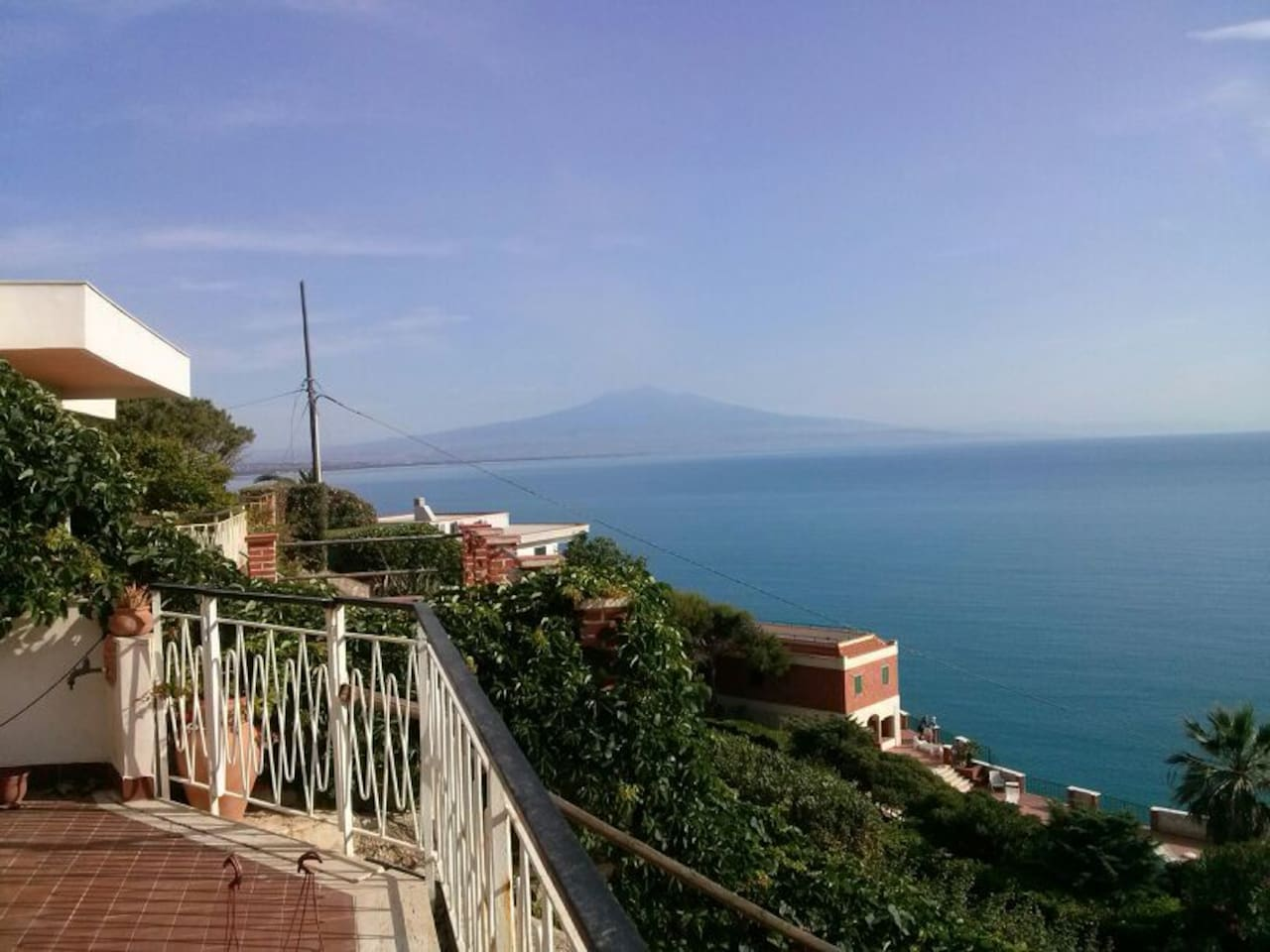 Vista Golfo di catania ed Etna (terrazzo)