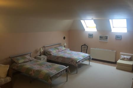 mid Wales , huge,spacious room