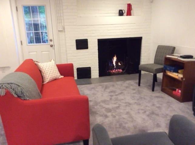 1 BR basement apt in NW Washington