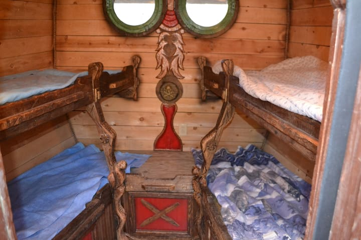 The Crew quarters-sleeps 4, bedding NOT included