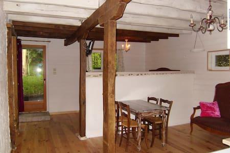 4p Gîte chalet chambre d'hôte - Saint-Bazile-de-la-Roche - Almhütte