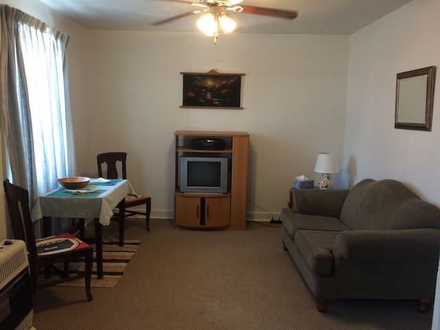 Cozy upper level Main St Apartment! - Cañon City - Byt