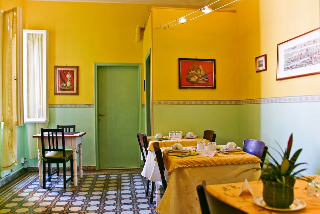 Breakfast room bed and breakfast a Casa di Virgilio Florence