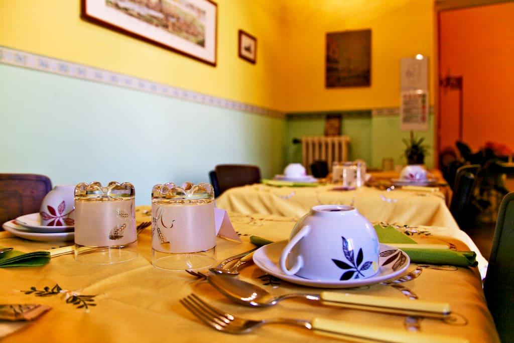Breakfast room B&B a Casa di Virgilio Florence