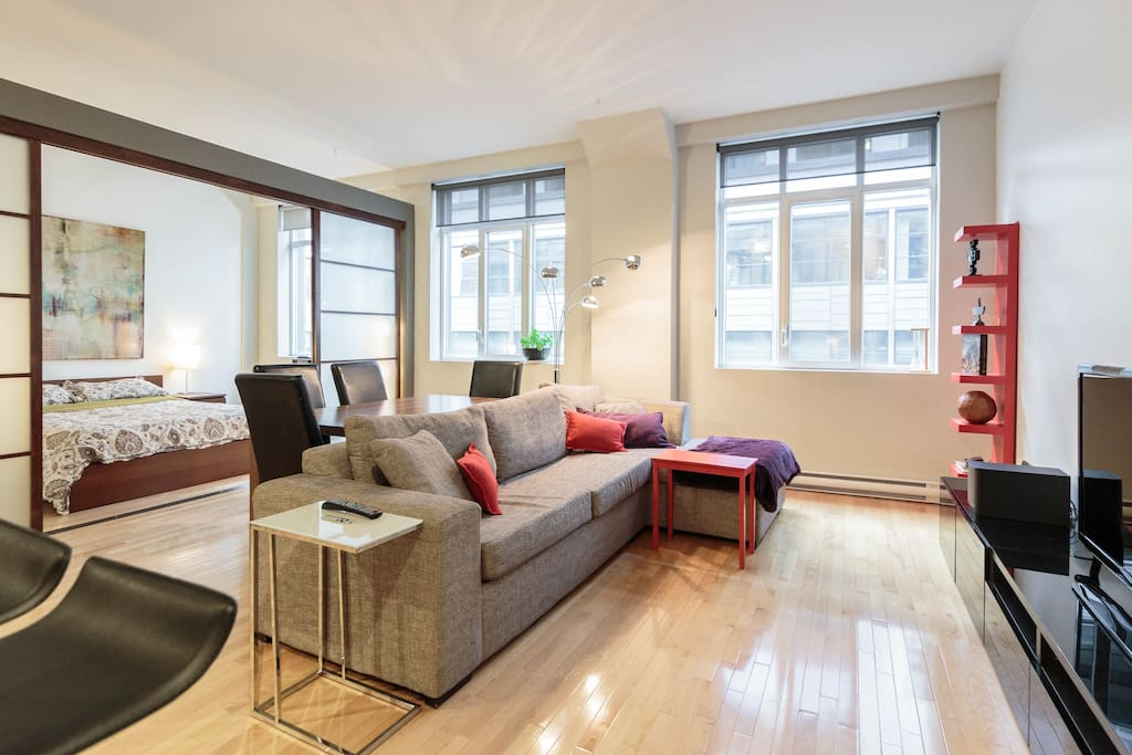 Downtown Montreal Modern Appartment Lofts For Rent In