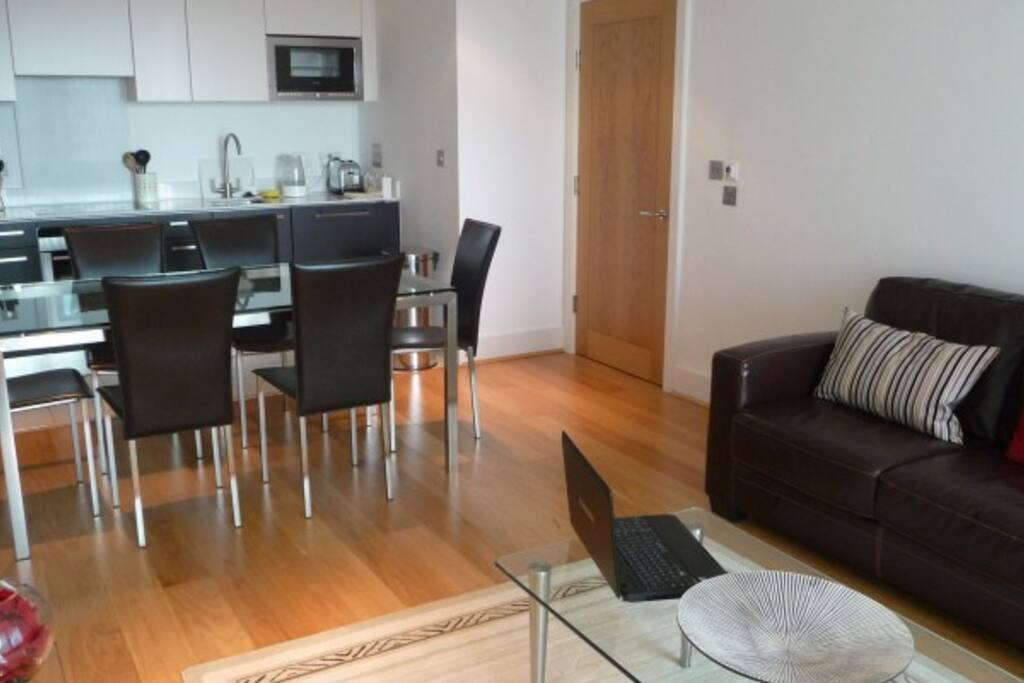 Apartment living room /kitchen