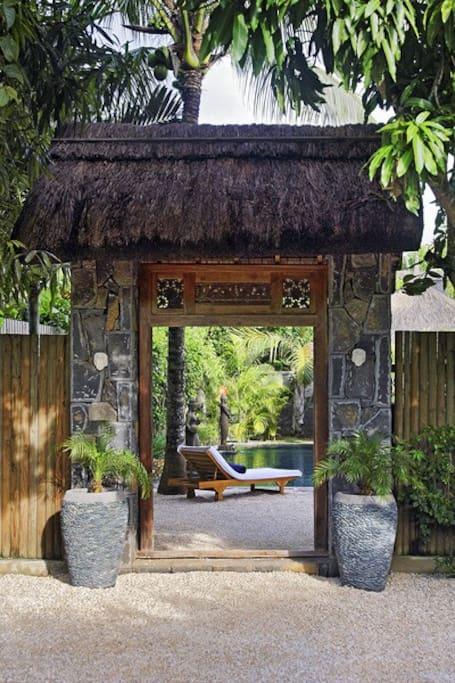 Garden door / Porte de jardin