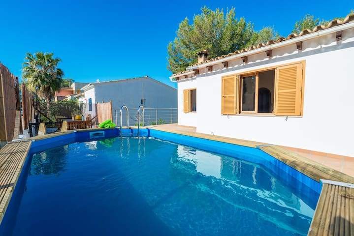 CUROLLAMARIS - Chalet for 8 people in Colonia Sant Pere.