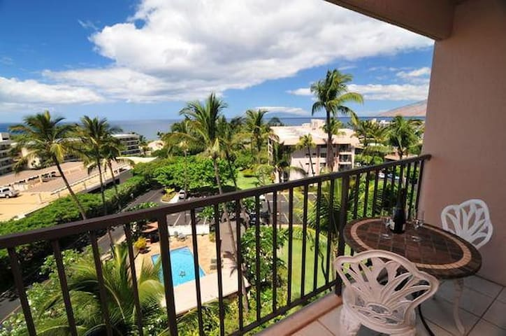 Kihei Akahi D-612: Fantastic Views, Close to Beach - Kihei - Hus
