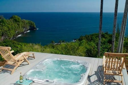 Onomea Cliffside Cottage: Pure Romance, now w/ A/C - Papaikou - Andere
