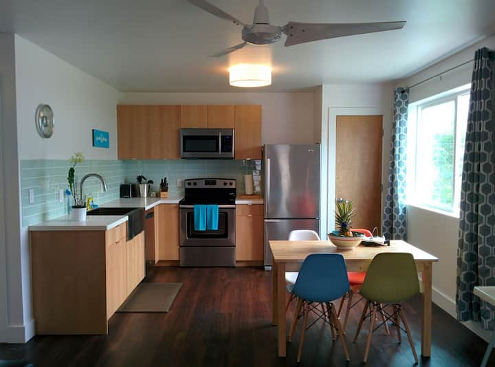 Modern Beach Home Laie North Shore - 30 Day Stays